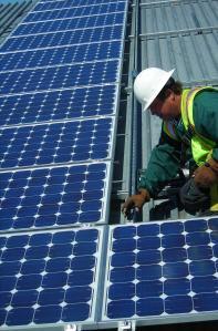 solar installation public domain