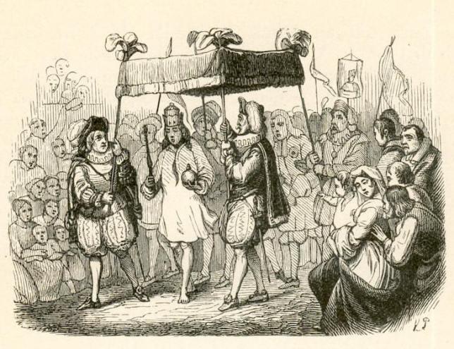 The Emperor's New Clothes. By Vilhelm Pedersen (1820 - 1859) [Public domain], via Wikimedia Commons