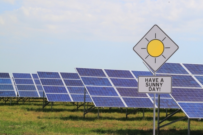 A tough stance from the SCC means delays for Dominion's solar plans. Photo by Activ Solar via Wikimedia Commons.