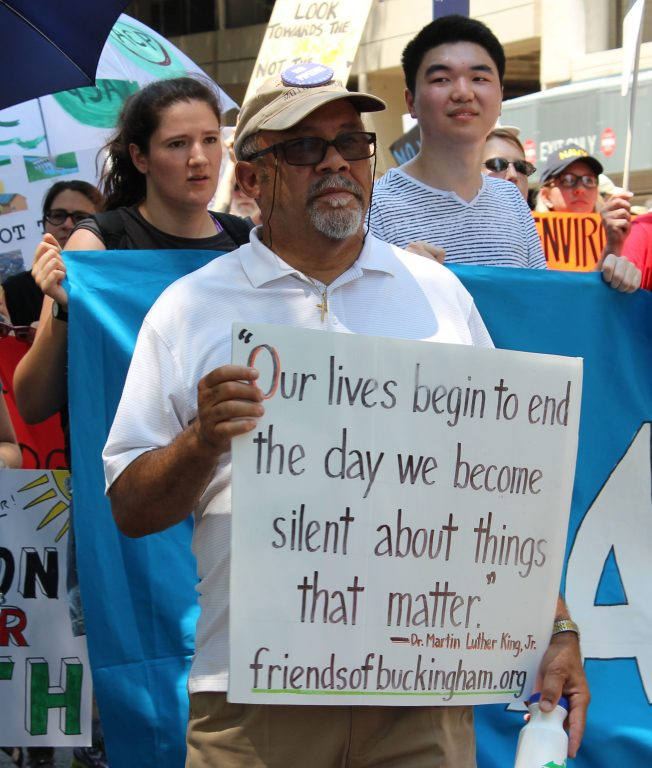 Photo courtesy of Chesapeake Climate Action Network