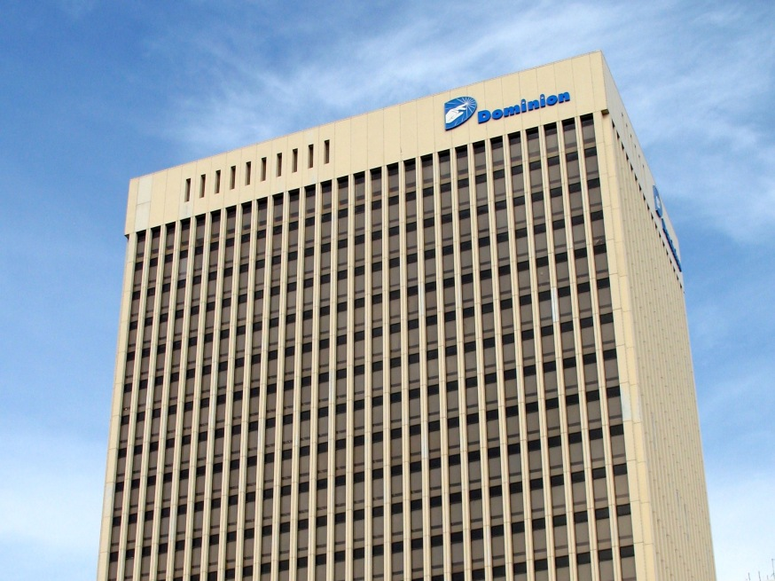 Dominion Energy building in Richmond, VA