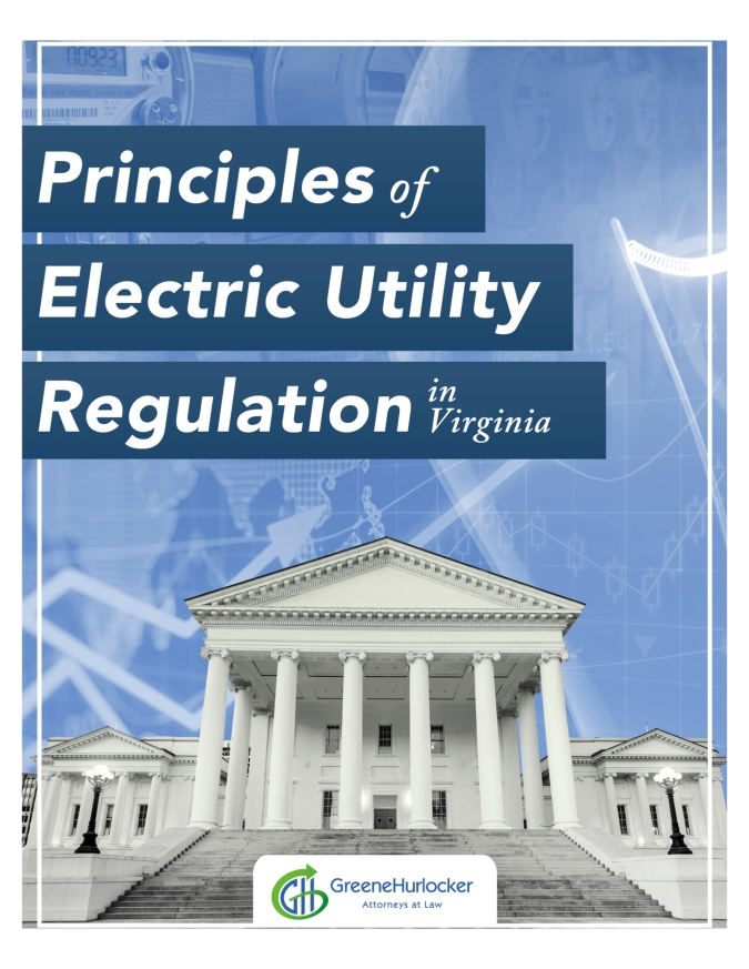 "Cover of ""Principles of Electric Utility Regulation in Virginia"""